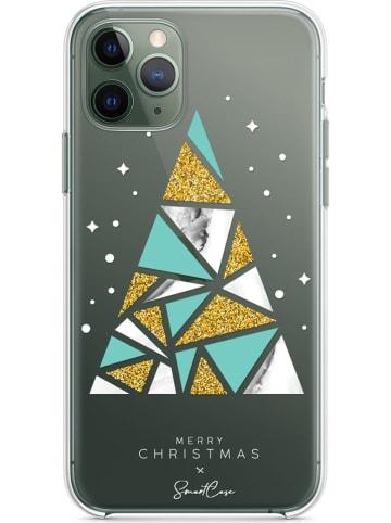 SmartCase Case voor iPhone 11 Pro Max groen/goudkleurig