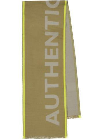 Codello Schal in Beige/ Neongelb - (L)190 x (B)33 cm