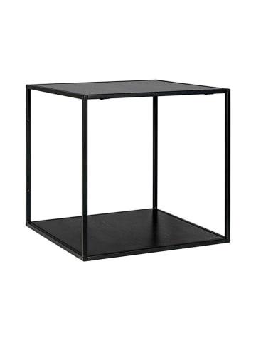 House Nordic Półka w kolorze czarnym - (S)36 x (W)36 x (G)36 cm