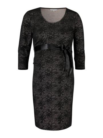 Noppies Sukienka ciążowa w kolorze czarnym