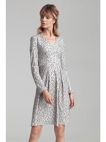 Colett Sukienka w kolorze biało-czarnym