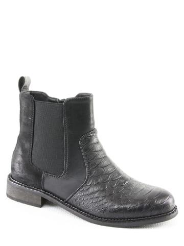 Foreverfolie Chelsea-Boots in Schwarz