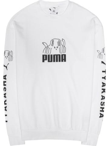 "Puma Sweatshirt ""SLCT"" wit"
