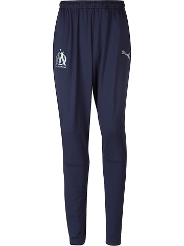 """Puma Spodnie sportowe """"Olympique Marseille"""" w kolorze granatowym"""