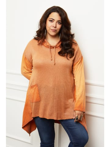 Curvy Lady Tuniek oranje
