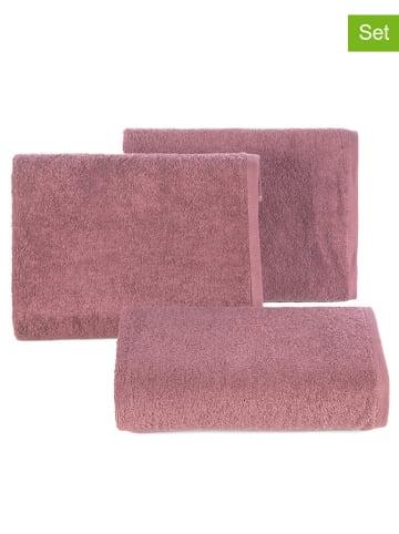 """Eurofirany Ręcznik """"Gładki"""" (2 szt.) w kolorze liliowym"""