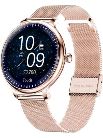 WHIPEARL Smartwatch w kolorze różowozłotym