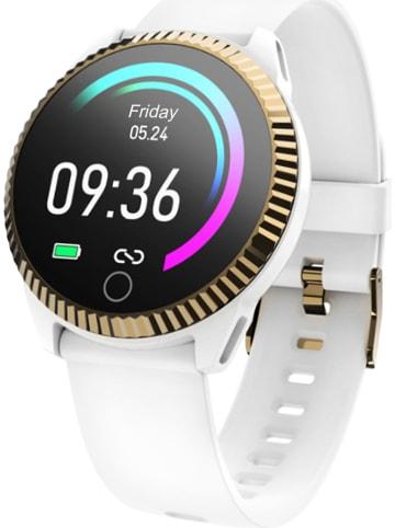 WHIPEARL Smartwatch w kolorze białym