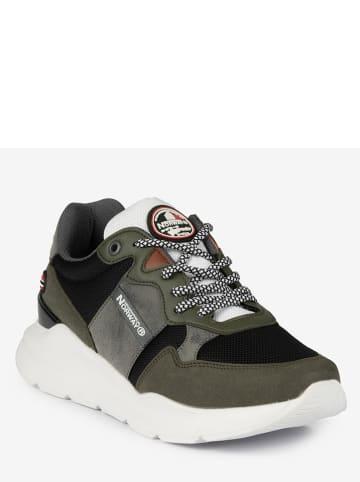 Geographical Norway Sneakers kaki/zwart/grijs