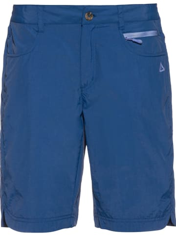 OCK Szorty funkcyjne w kolorze niebieskim
