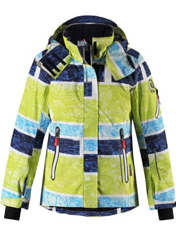 """Reima Kurtka narciarska """"Frost"""" w kolorze zielono-niebieskim"""