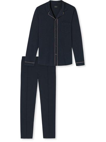 Schiesser Pyjama donkerblauw