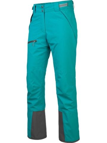 """Salewa Spodnie narciarskie """"Antelao Beltov2"""" w kolorze turkusowym"""