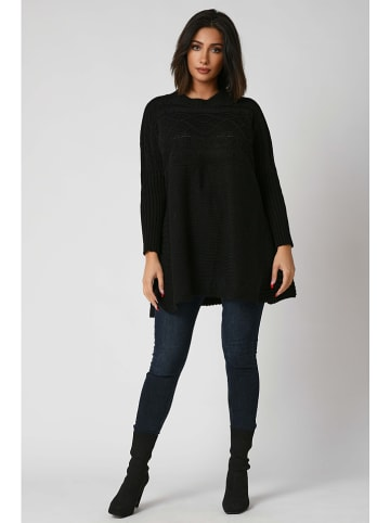 "Plus Size Company Pullover ""Carla"" in Schwarz"