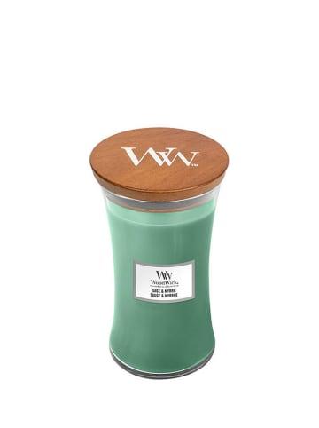 WoodWick Duża świeca zapachowa - Sage & Myrrh