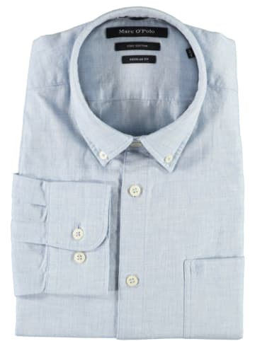 Marc O´Polo Koszula - Regualr fit - w kolorze błękitnym