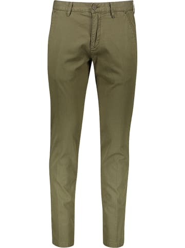 Marc O'Polo Hose - Tapered fit - in Khaki