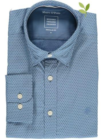 Marc O'Polo Hemd - Regular fit - in Blau