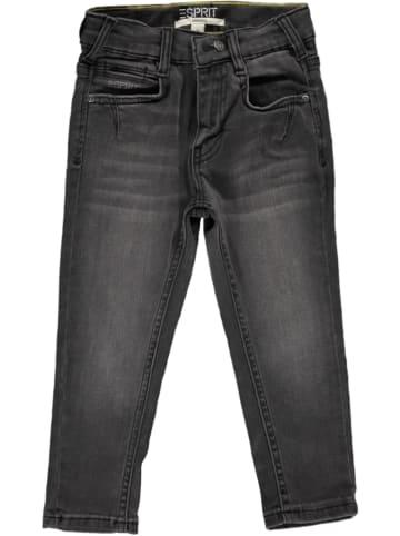 ESPRIT Dżinsy - Tapered fit - w kolorze antracytowym