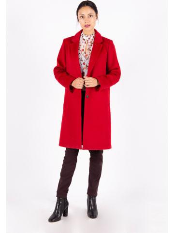 Mexx Płaszcz przejściowy w kolorze czerwonym