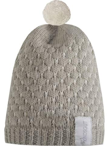 Kindsgut Mütze in Grau