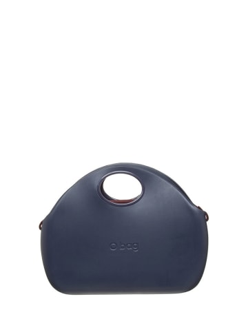 "O Bag Handtas ""O Chic"" donkerblauw/paars - (B)34 x (H)25 x (D)9 cm"