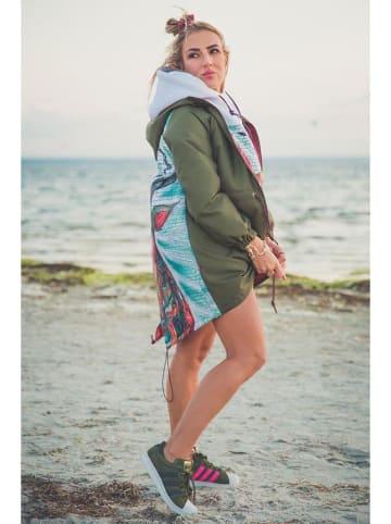 Waikiki Kurtka w kolorze khaki ze wzorem