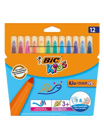 """Bic Mazaki (12 szt.) """"Kid Couleur XL"""""""