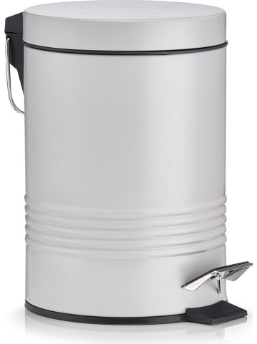 Zeller Pedaalemmer grijs - 3 l