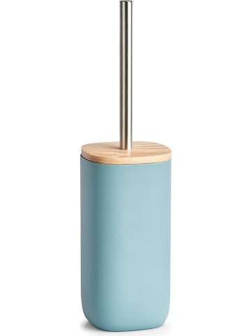 Zeller WC-Bürste in Hellblau - (H)37,5 x Ø 10 cm