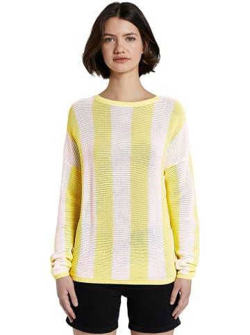 Tom Tailor Pullover in Gelb