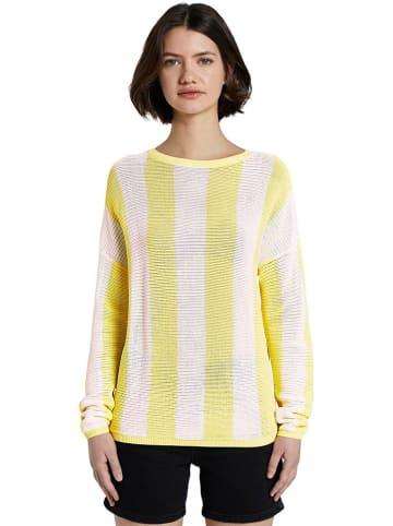 Tom Tailor Sweter w kolorze żółtym