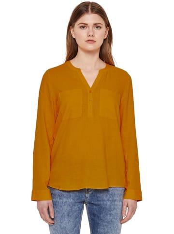 TOM TAILOR Denim Bluse in Orange