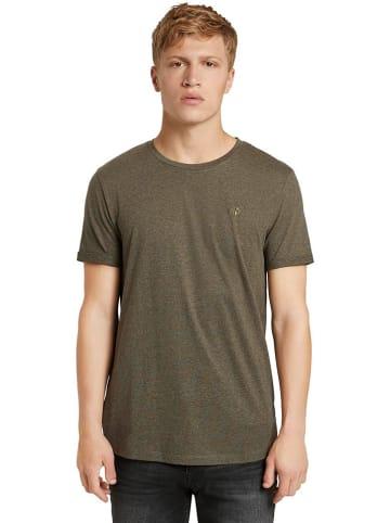 TOM TAILOR Denim Shirt olijfgroen