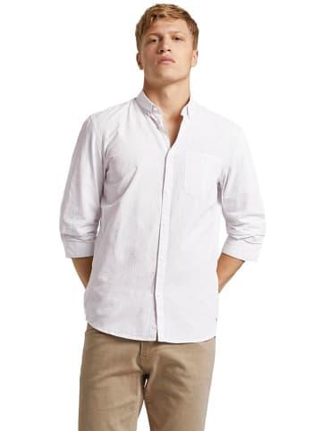 Tom Tailor Koszula - Slim fit - w kolorze białym