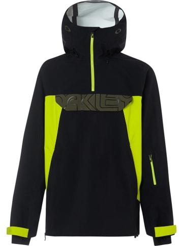 """Oakley Ski-/ Snowboardjacke """"Black Forest"""" in Schwarz/ Gelb"""