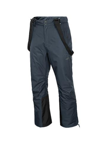 4F Spodnie narciarskie w kolorze grafitowym