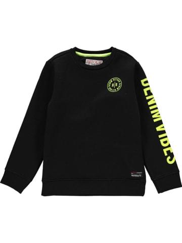 """Retour Sweatshirt """"Genua"""" in Schwarz"""