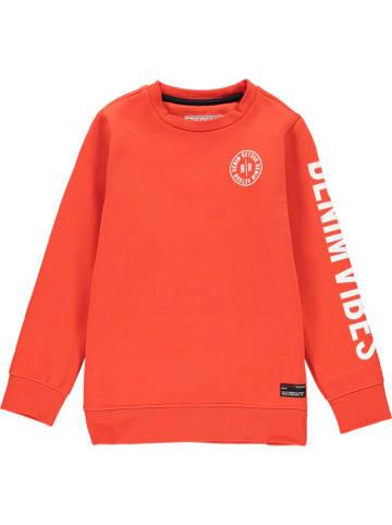 "Retour Sweatshirt ""Genua"" in Rot"