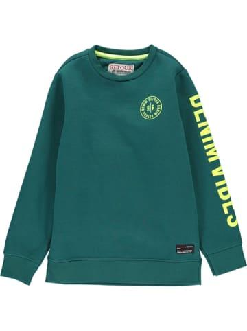 "Retour Sweatshirt ""Genua"" in Grün"