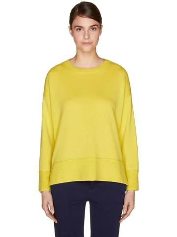 Benetton Kaszmirowy sweter w kolorze żółtym