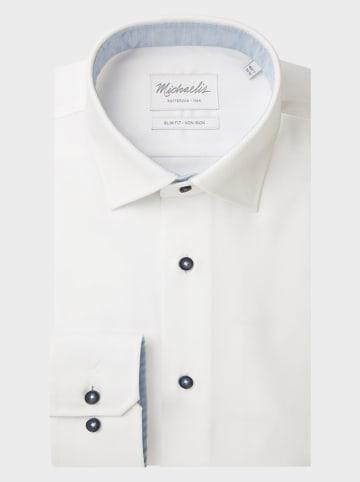 Michaelis Koszula - Slim fit - w kolorze białym