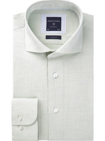 PROFUOMO Hemd - Slim fit - in Grün