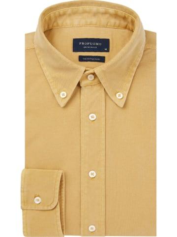 PROFUOMO Hemd - Slim fit - in Gelb