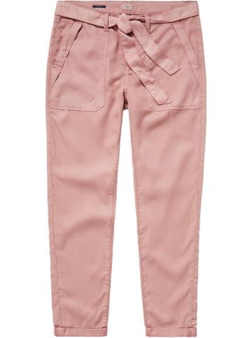 """Pepe Jeans Spodnie """"Drifter"""" - Tapered fit - w kolorze jasnoróżowym"""