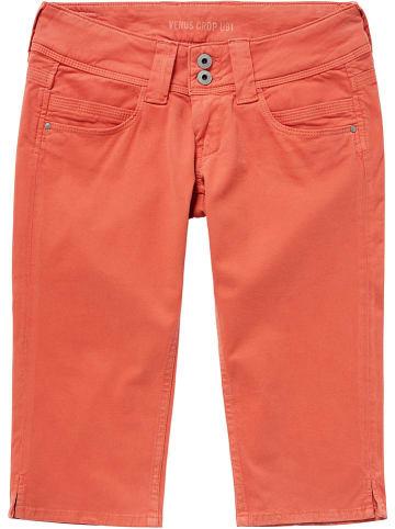 """Pepe Jeans Bermudy """"Venus"""" - Slim fit - w kolorze czerwonym"""
