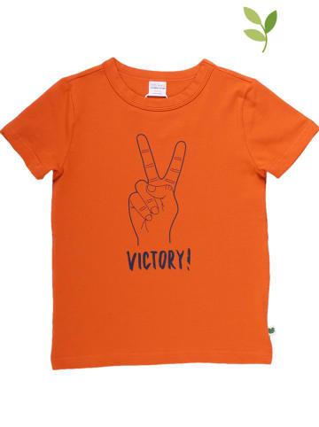 Fred´s World by GREEN COTTON Koszulka w kolorze pomarańczowym
