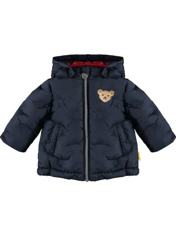 Steiff Winterjas donkerblauw