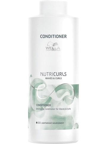 """Wella Professional Conditioner """"Nutricurls"""" - 1000 ml"""