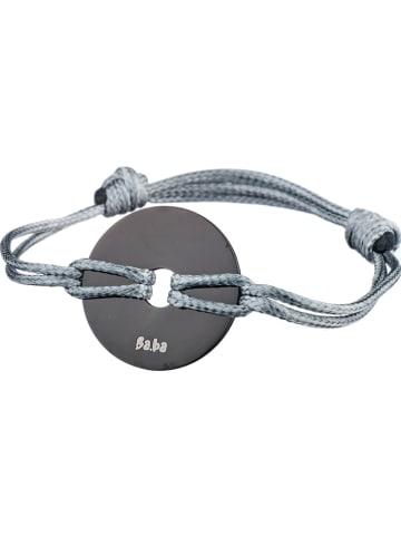 """Bastille baobab Armband """"Les Halles"""" in Grau"""